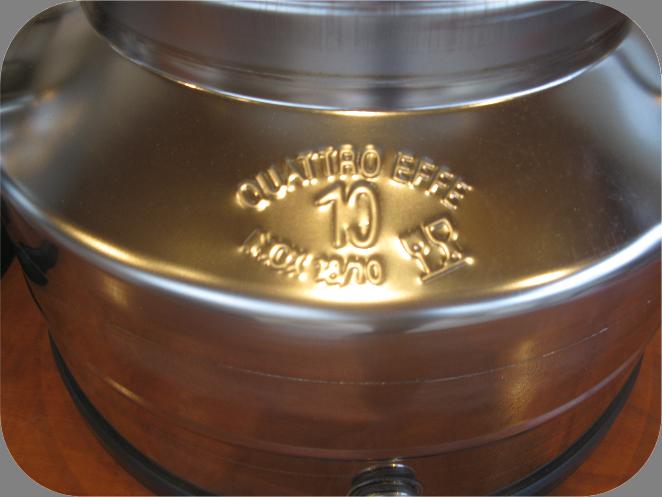 10 liter RvS, INOX olijfolie vat - Tas Brouwwinkel