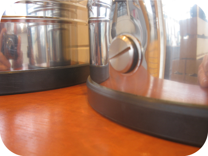 RVS olijfolie vat- Tas Brouwwinkel
