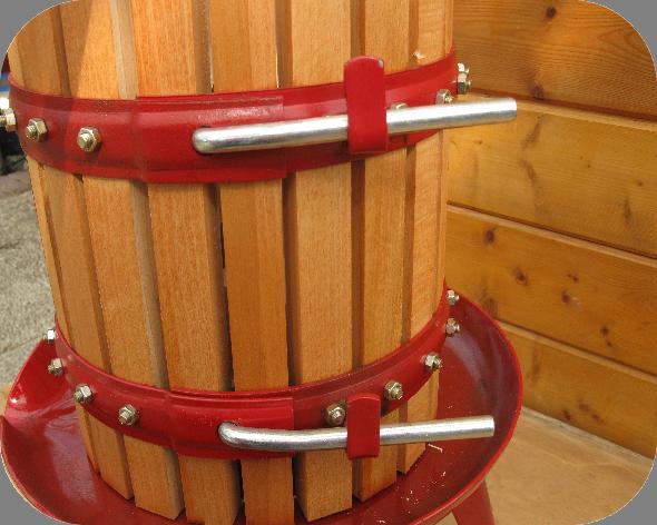 20 liter fruitpers - Tas Brouwwinkel