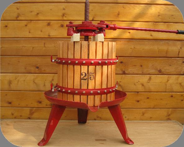 25 liter fruitpers - Tas Brouwwinkel