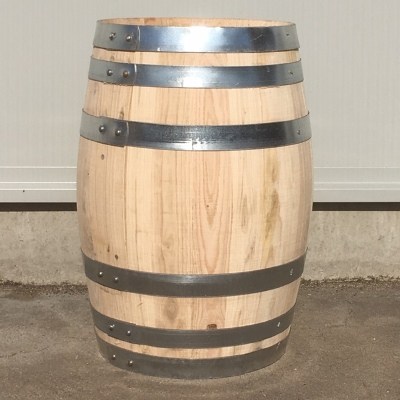 Kastanje houten portvat 30 liter