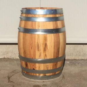 Kastanje houten portvat 30 liter, geolied