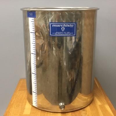 Roestvrijstalen vaten (INOX)