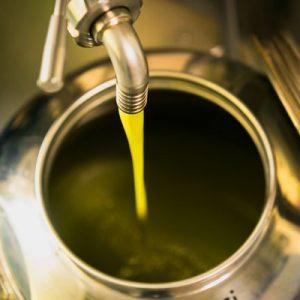 Olijfolievaten van RVS (INOX)