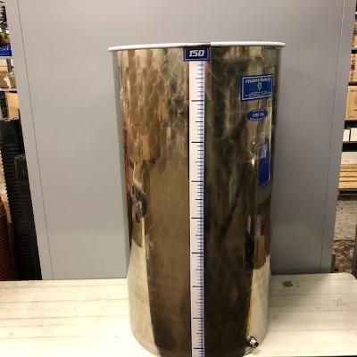 150 liter INOX brouwvat