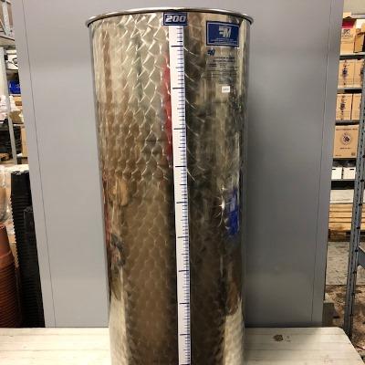 INOX brouwvat 200 liter