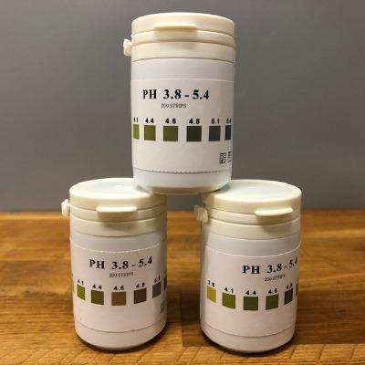 Indicatorpapier pH 3.8-5.4