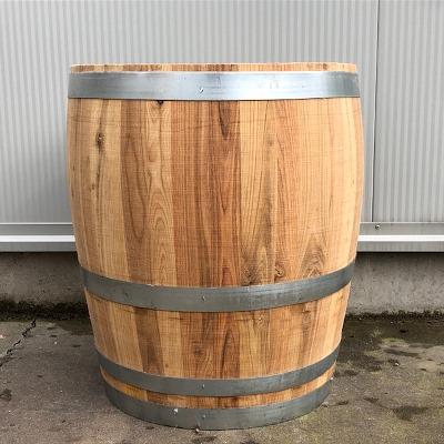 3/4 kastanjehouten portvat 83 liter, geolied met lijnolie