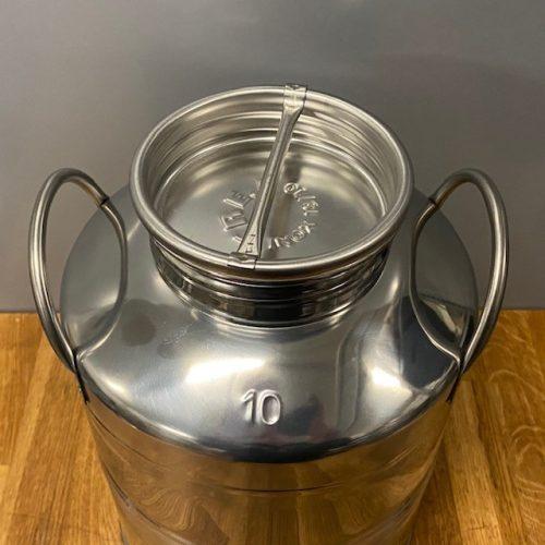 Olijfolievat RVS 18/10 10 liter