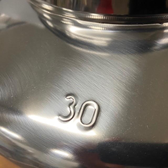 Olijfolievat RVS 18/10 30 liter